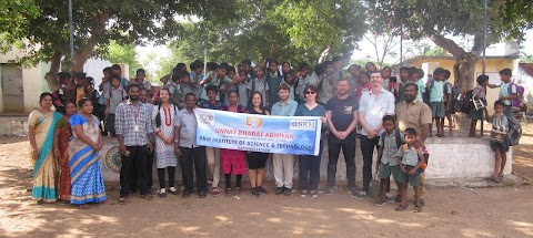 Students from Teesside University, UK participate in community development project under UBA
