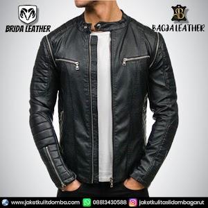 Jual Jaket Kulit Asli Garut Pria Domba Original Brida Leather B85 | WA 08813430588