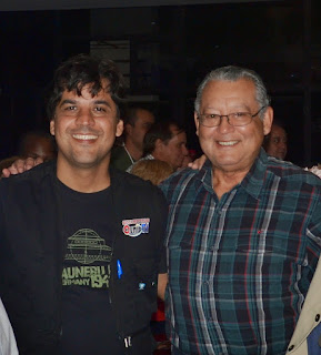 Presidente da AMPUP (Ataide Ferreira) e o pesquisador Gener Silva