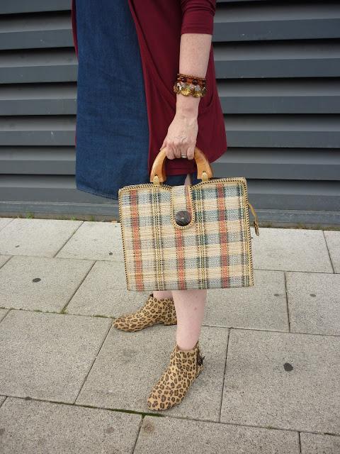 Leopard Print Chelsea Boots, Check bag & Bracelets | Petite Silver Vixen