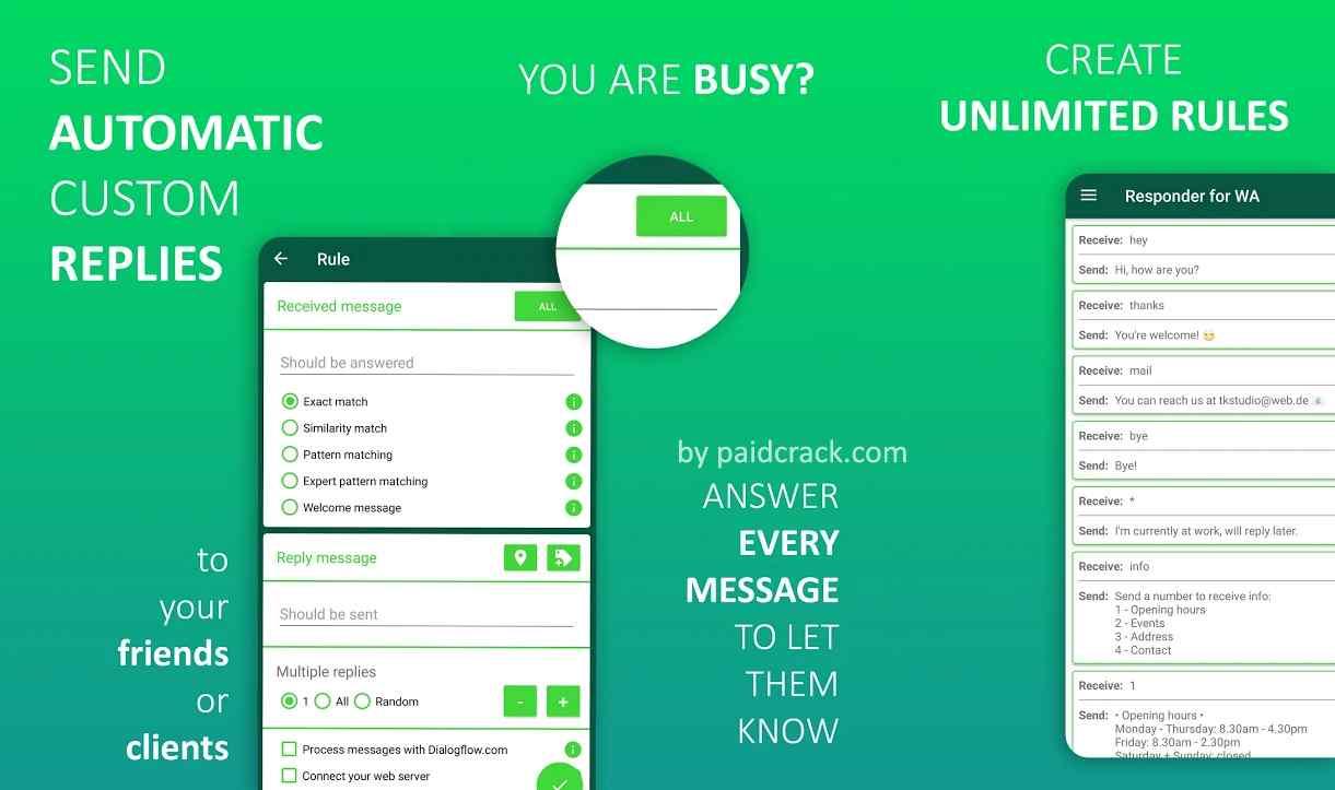 AutoResponder for WhatsApp Pro Mod Apk 1.9.6