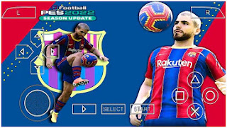 Download PES 2022 PPSSPP Special June Full Transfer & New Update Kits And Minikits Best Graphics HD