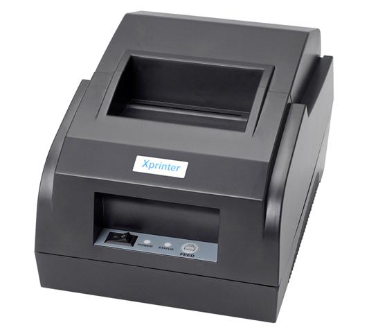 Máy in hóa đơn thanh toán khổ 58mm giá rẻ Xprinter XP-58IIL, thương hiệu và sản xuất Trung Quốc: 590.000đ