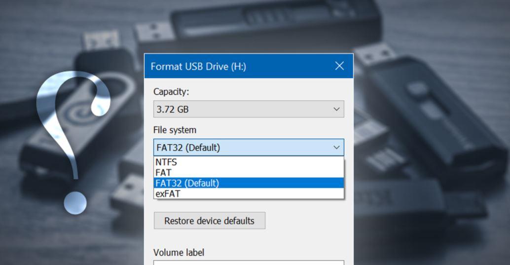 كيفية-إختيار-أفضل-نظام-ملفات-File-System-للفلاش-ميموري-USB-عند الفورمات