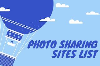 High DA Dofollow Photo Sharing Sites List For SEO
