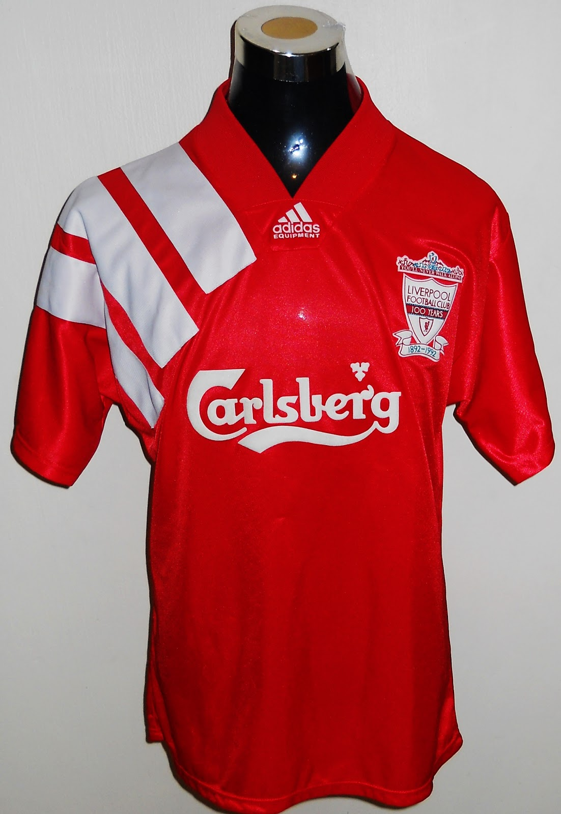 lowest price 3200f 6c229 Low Fat Milk: Liverpool Home Adidas Jersey 1992