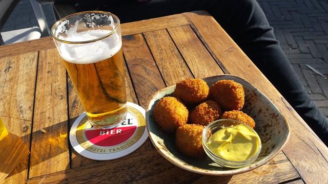 Bitterballen em Amsterdã