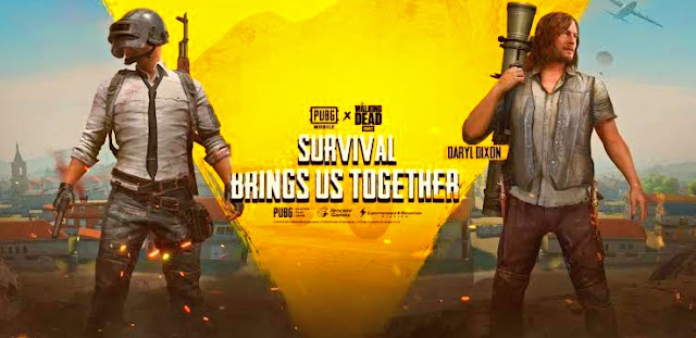 Collaboration between PUBG Mobile and The Walking Dead