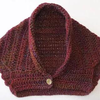 Bolero o Chaqueta a Crochet