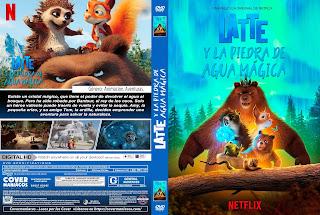 LATTE Y LA PIEDRA DE AGUA MAGICA - LATTE  & THE MAGIC WATERSTONE 2019 [COVER - DVD]