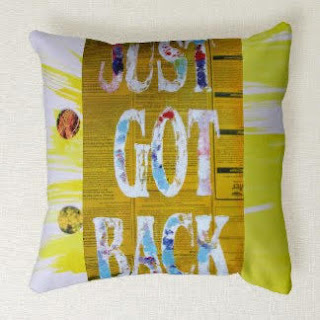 Artistic throw pillow by Artmiabo