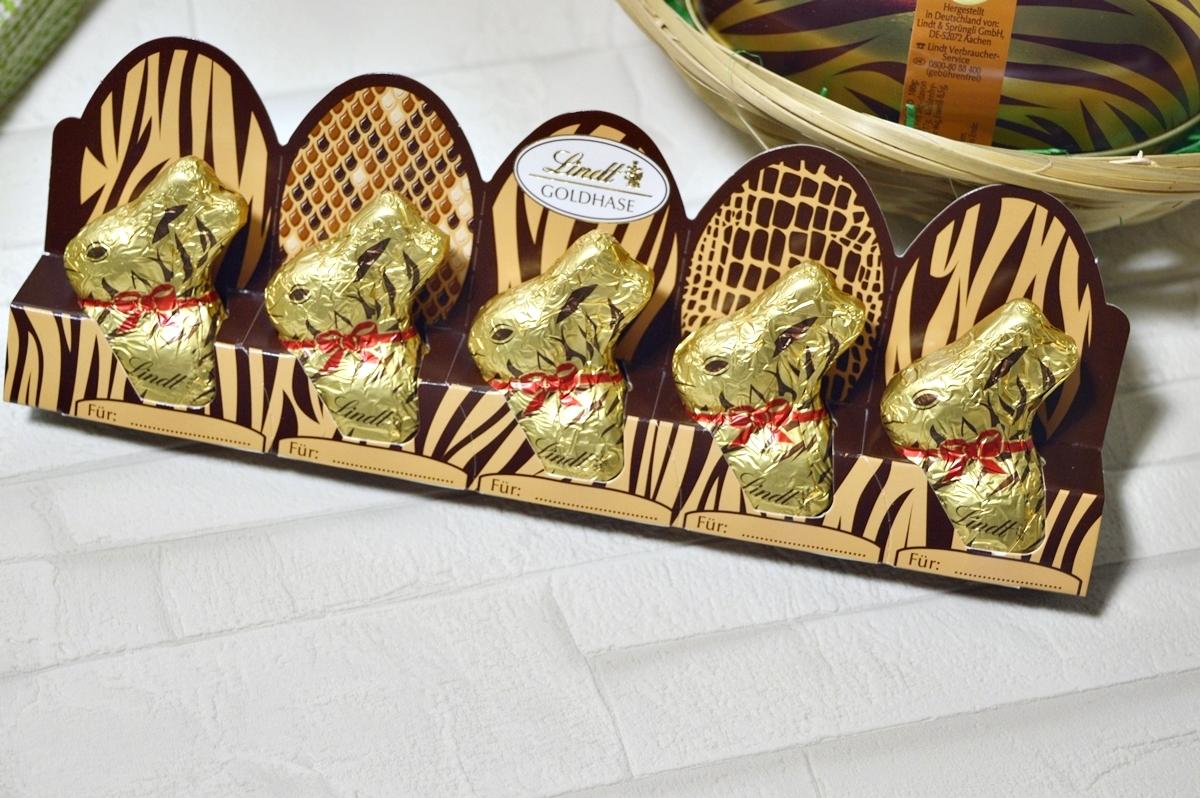 Easter bunny wears Animal Print small easter bunnies