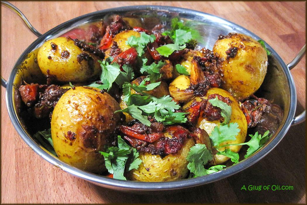 Bombay-Style Potatoes