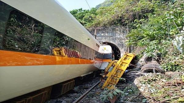 臺鐵局成立「0402臺鐵408次太魯閣號事故」專區