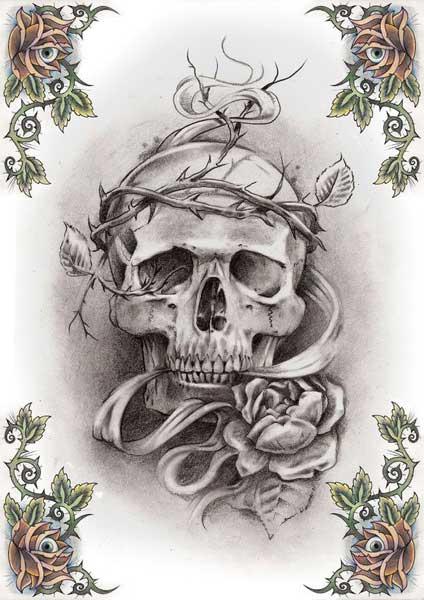 Skull Tattoo Pictures Best Tattoos King Design