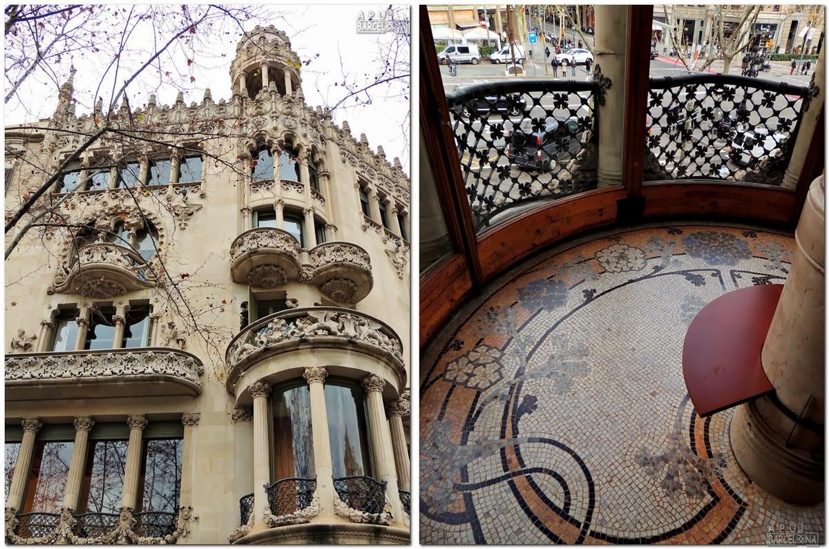 Apu barcelona veodigital la casa lle i morera la joya - Casas modernistas barcelona ...