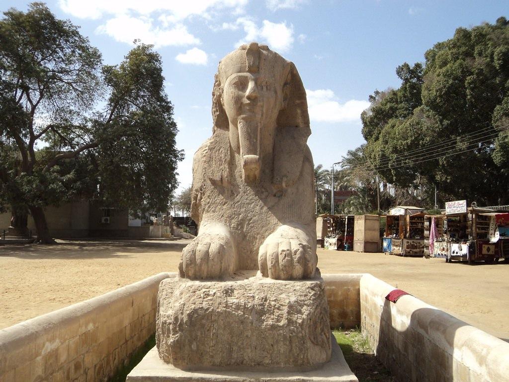 Esfinge de alabastro de Mênfis