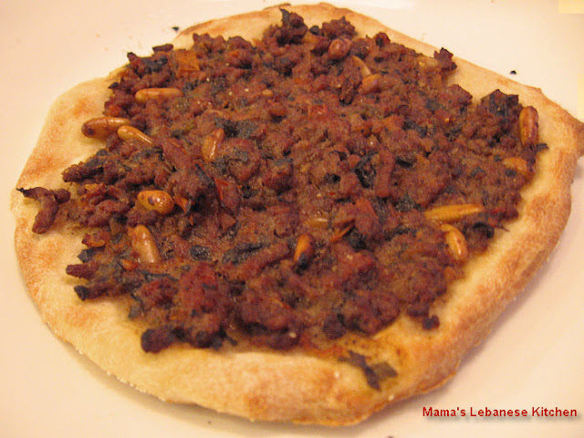 Take a walk on virtually any street in Lebanese cities Lebanese Meat Pie Recipe - Sfeeha - Lahm bi Ajeen