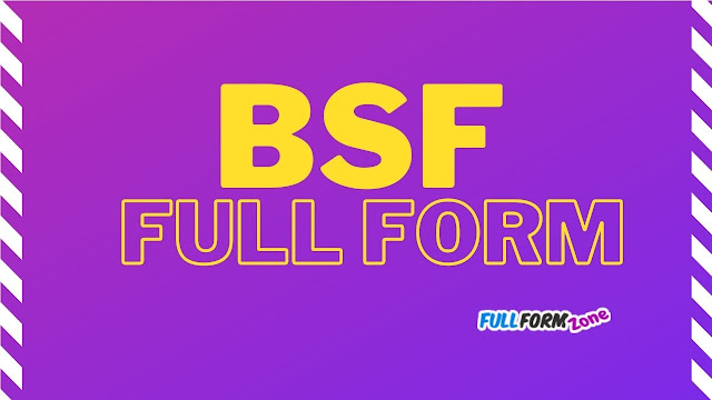 BSF Full Form in Hindi