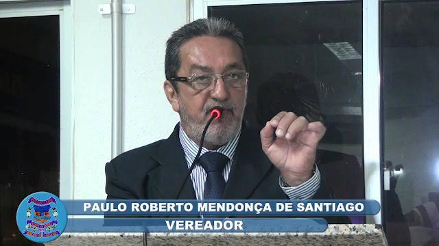 Resultado de imagem para paulo santiago vereador