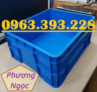 Thùng nhựa đặc B8 có nắp, hộp nhựa B8, khay nhựa đựng đồ 20180407_124852