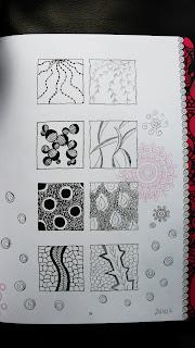 Une page d'exercices du livre