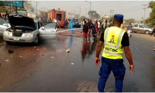 Driver Kills One, Injures One in Nnewi (Photo)