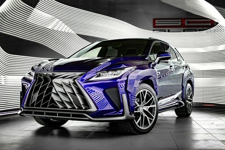 Lexus NX và RX lột xác với gói độ thân rộng