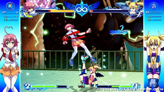 Arcana Heart 3 Love Max - Download Game PSP PPSSPP PSVITA Free