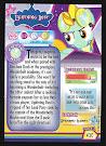 My Little Pony Lightning Dust Series 2 Trading Card