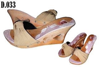 Sandal Kelom Wedges