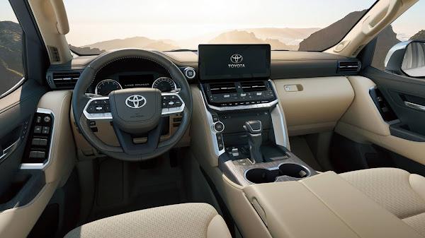Novo Toyota Land Cruiser 2022