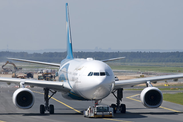 Oman Air With Airbus A330-200