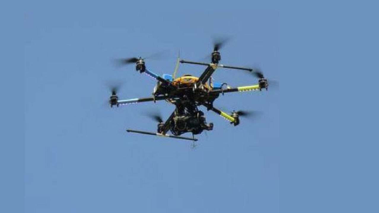 Pakistan dropped weapons from drones in Samba sector