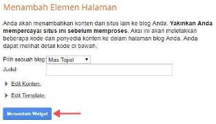 Cara Cepat Memasang Widget Komentar Disqus di Blogger