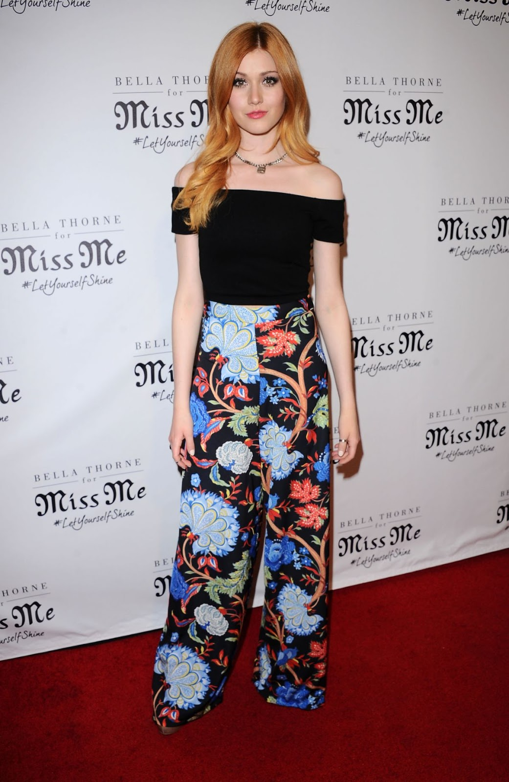 Little Savages actress Katherine Mcnamara at Miss Me and Cosmopolitan's Spring Campaign Launch