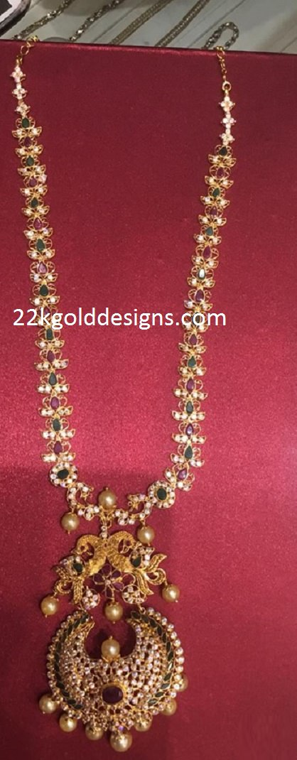 70Grams Long Gemstone Necklace