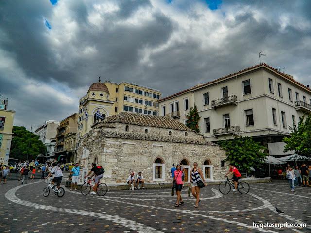 Plateia Monastiráki, Atenas, Grécia