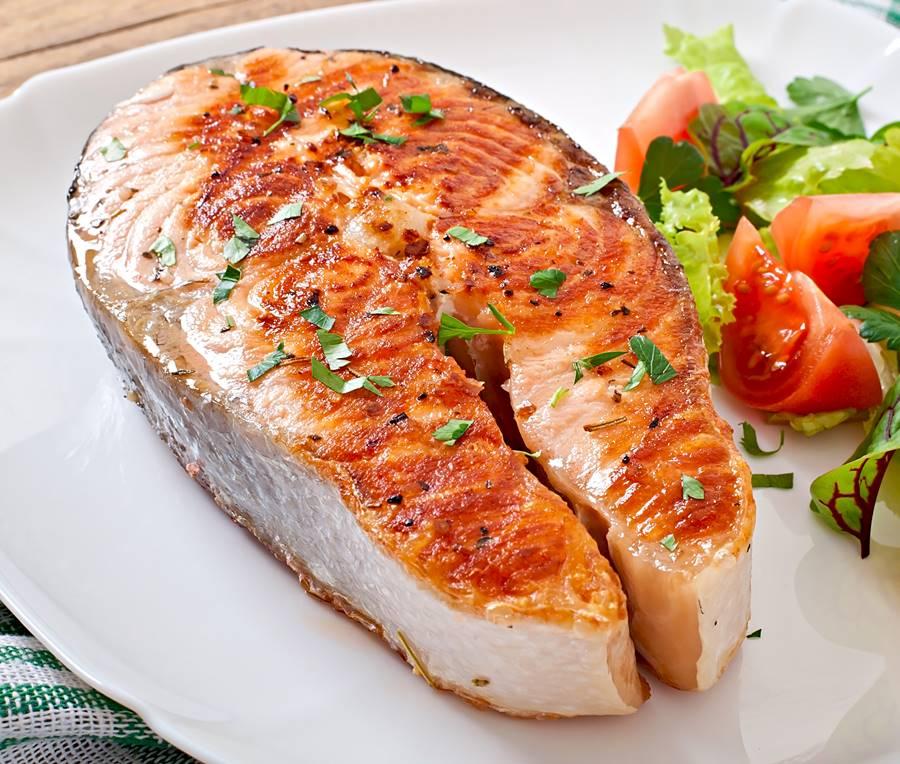 ¿Pescado con proteínas?