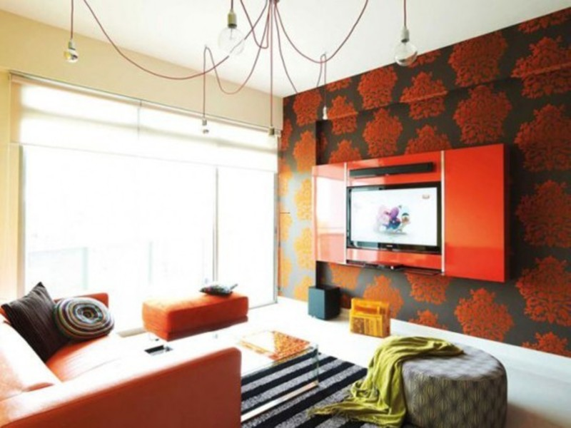 Wonderful Designer Wall Paints For Living Room Images   Best Idea .