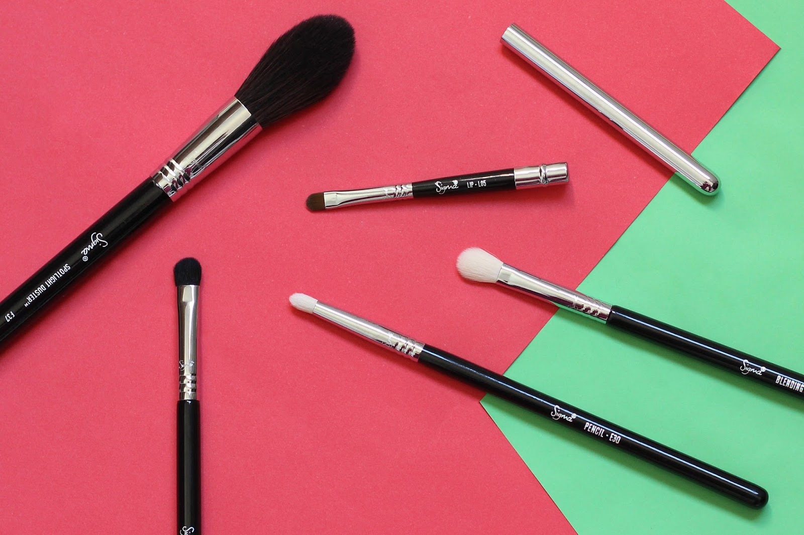 Sigma Beauty Brushes E25, E30, E32, F37, L05 Review