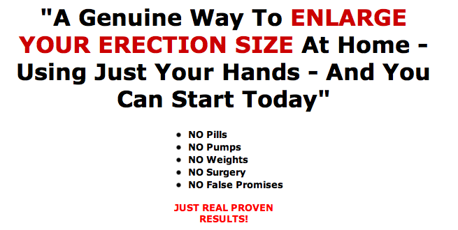 Natural ways to increase penile size