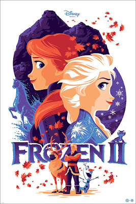 Disney's Frozen II Screen Print by Tom Whalen x Mondo