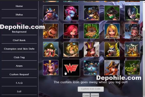 League of Legends Profile Tool Hilesi Aram Boost İndir 2021
