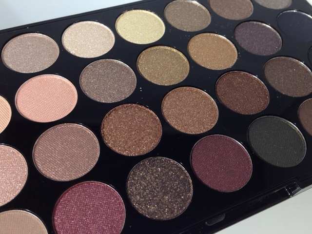 Haysparkle Makeup Revolution New 32 Ultra Eyeshadow Palette In Flawless