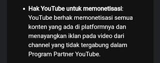 Persyaratan Layanan Youtube 1 juni 2021