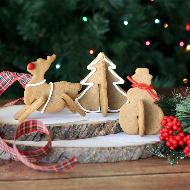 These are adorable 3D Christmas Cookie