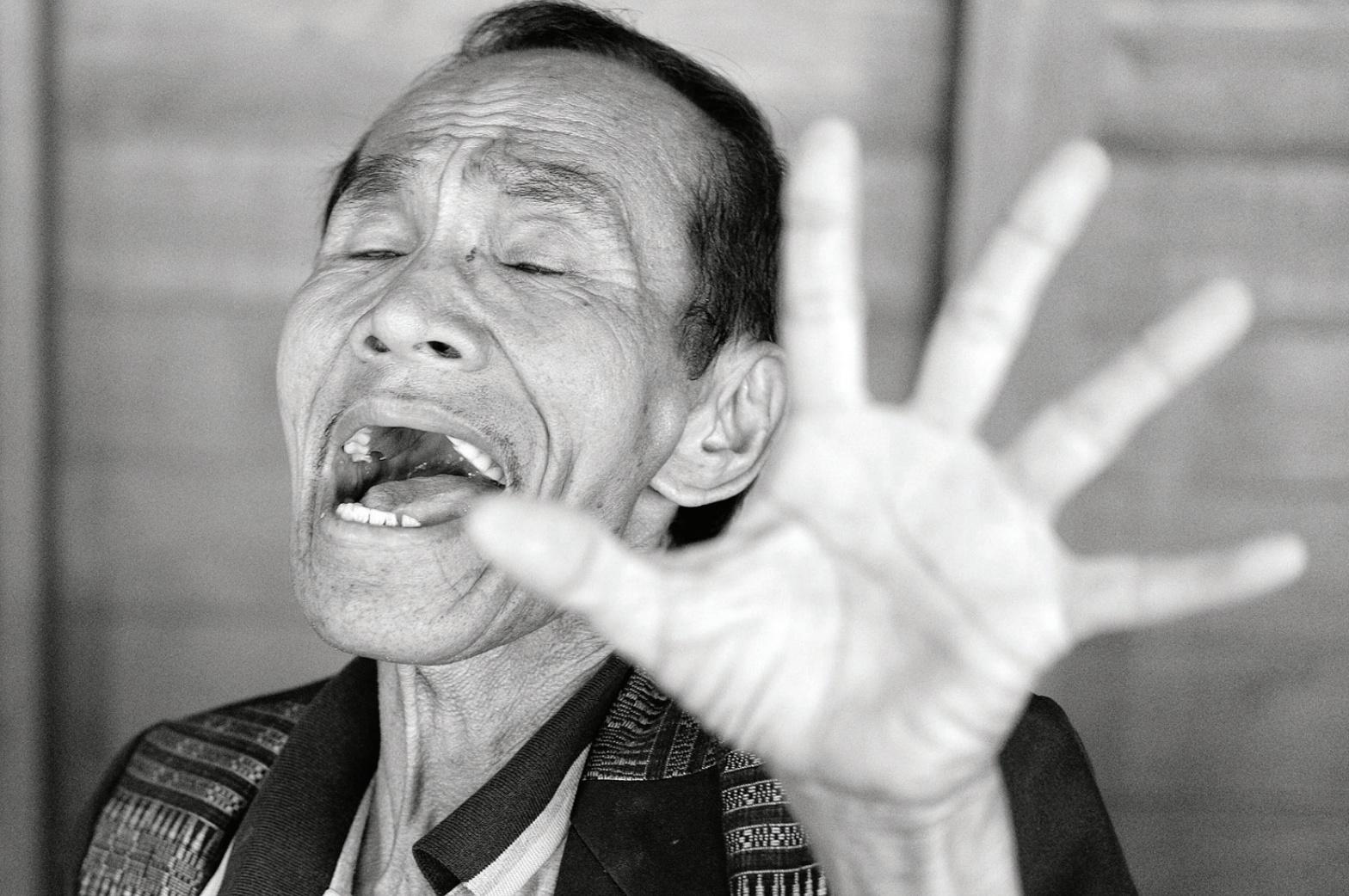 foto Manahan Situmorang penyanyi lagu Batak Toba