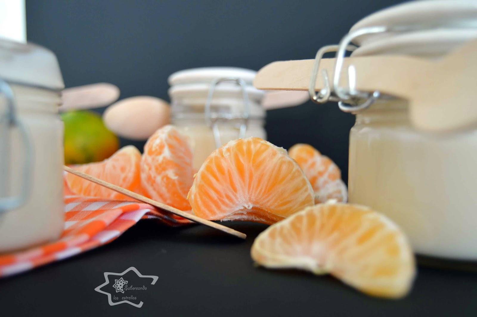 Crema de Mandarinas -Saboreando las estrellas-