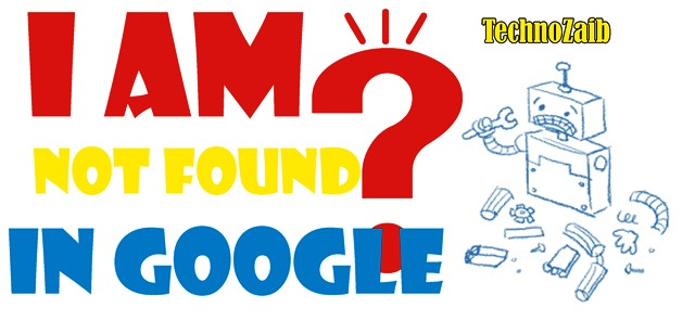 I am not found in Google